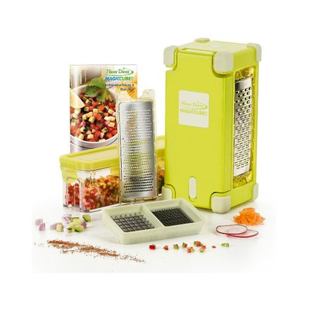 Кухненско ренде Nicer Dicer Magic Cube gourmet 9 в 1