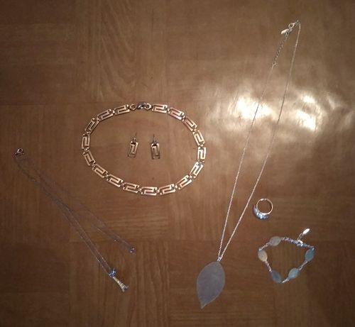 Подвески-кулоны, цепочки, чокер, ожерелье,колье,браслет,серьги, кольцо