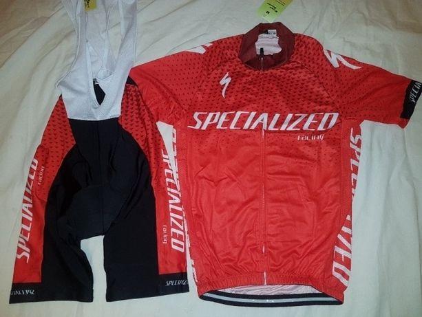 Echipament ciclism Specialized Gaze 2018 set pantaloni tricou NOU