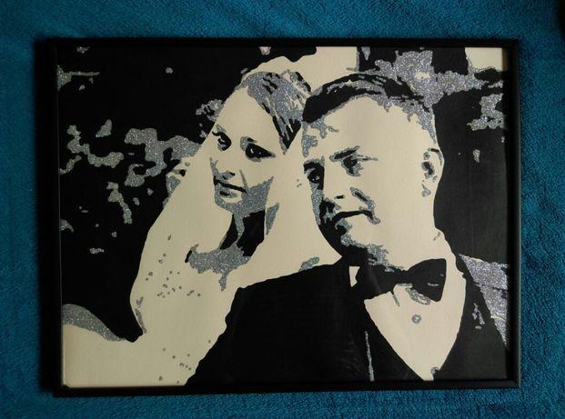 Portret argintiu -nunta !