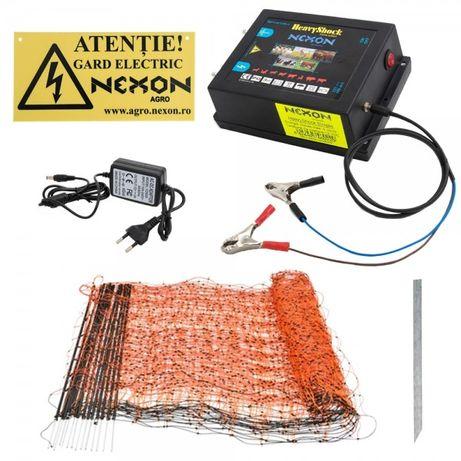Kit complet gard electric NEXON Simple 6.6J 12V, 50m plasa