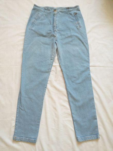 Дамски дънки с висока талия Размер 12 UK (46 BG)