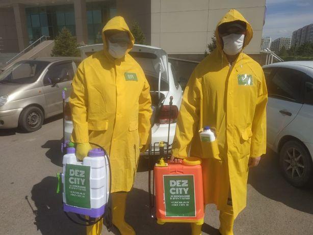 Уничтожение комаров и мошек на участке - от 5000 тенге. Дезинфекция