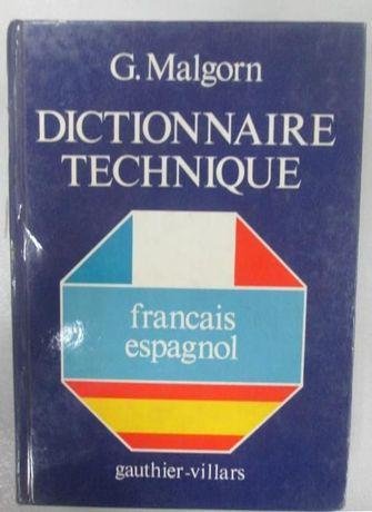 Френско-испански технически речник, Dictionnaire technique francais-es