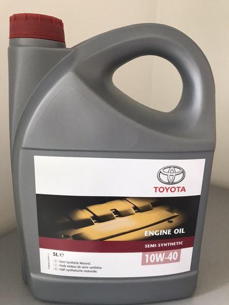 Моторно масло Toyota 10W-40 с. Енево - image 1
