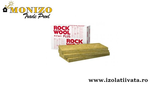 Vata minerala bazaltica ROCKWOOL FRONTROCK MAX PLUS 50mm
