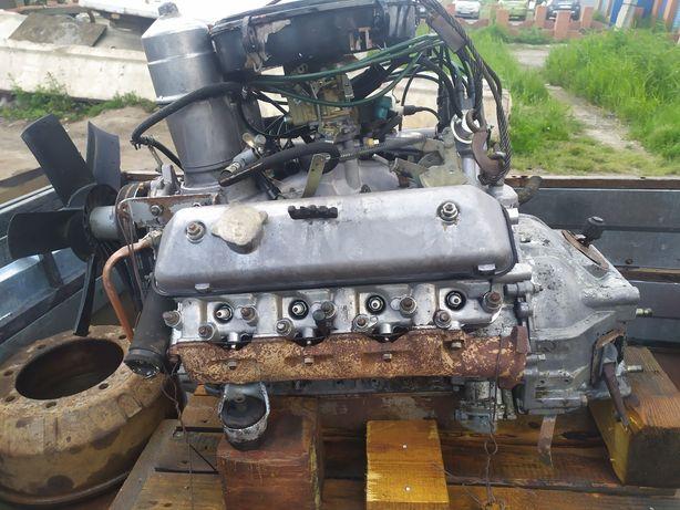 Двигатель газ 53-513,паз