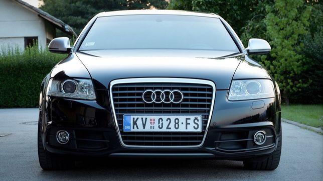 Бампер передний на Ауди А6(С6) 05-08 / Audi A6 (C6)