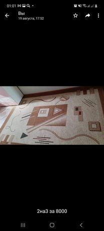 Продам ковёр в хорошем состоянии за8000