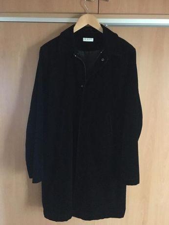 Мъжко черно кадифено палто Ted Baker