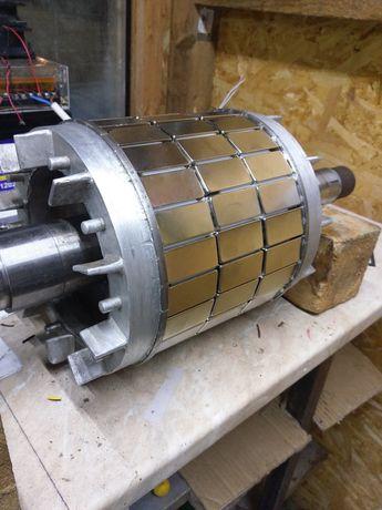 generator PMG neodim eoliana hidro 0-380v, 0-850 rotatii