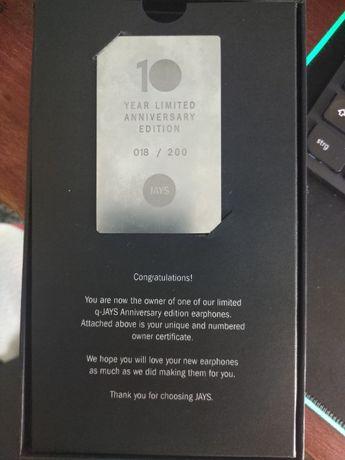 q-JAYS Limited Anniversary Edition nr 018/200