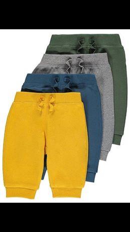 Set 4 pantaloni 6-9 luni ( noi)