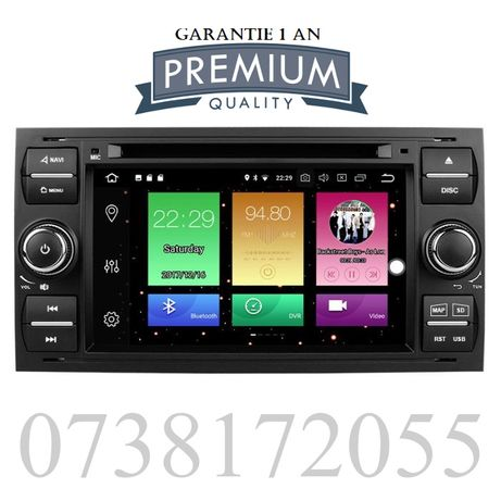 Navigatie GPS Android Ford Focus Mondeo Fiesta Kuga Transit DVD MP3