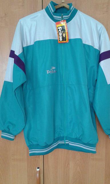 Куртка от спортивного костюма, подклад из тонкого трикотажа