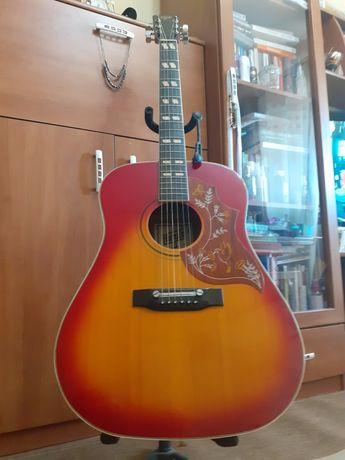 Chitară acustică Hondo lI H180A- Korea anii 80.