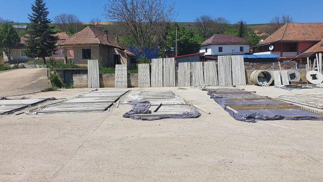 Vand stâlpi de beton cu armatura