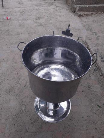 Cristelnita pentru botez din inox alimentar la 80 de litri face