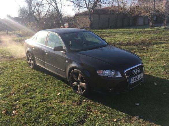 Audi a4 b7 s-line 2.0TFSI Ауди а4 б7 2.0тфси 200кс с-лине на части