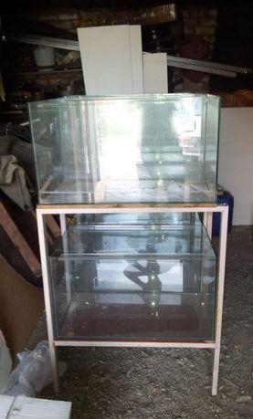Продам аквариум можно со стелажом