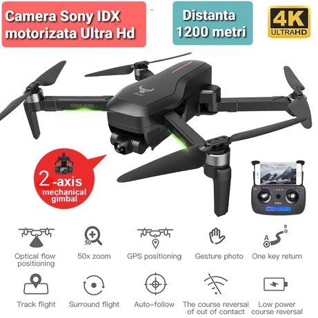 Drona Camera 4K, Gimbal Electronic Cu 2-Axe, GPS,Distanta 1200 M ,Noua
