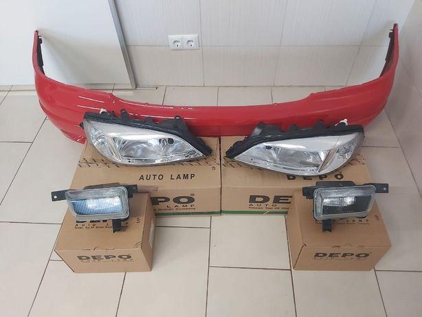 Pachet Bara Fata+Far+Proiector Dreapta-Stanga Opel Astra G 98-04 Z547