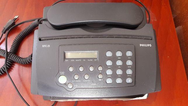 Telefon Fax Philips HFC 21