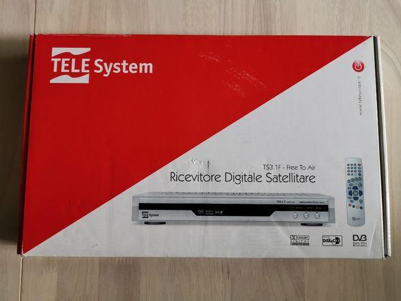 Цифров сателитен приемник TeleSytem TS3.1F DVB Free to Air
