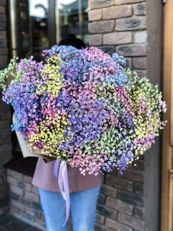 Гипсофила • Розы • Букеты • Цветы • Доставка Цветов по Астана 27