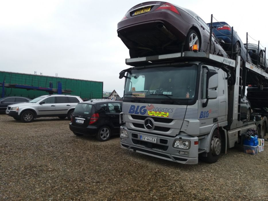 Transport masini/autoturisme/jeep/motociclete platforma Anglia Romania Bucuresti - imagine 1
