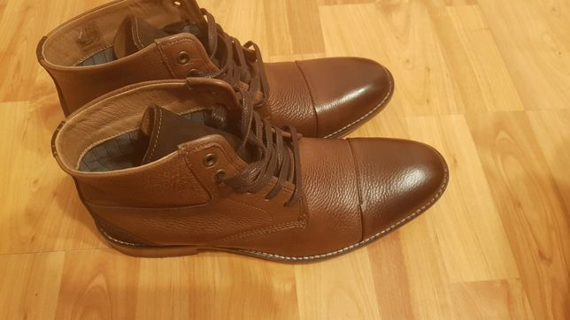 Ghete de piele naturala Paul Hunter 42