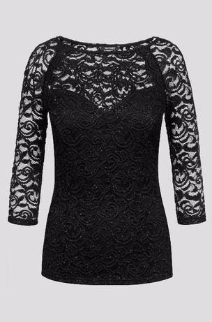 Чисто нова черна дантелена блуза '' Orsay''