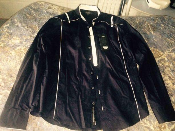 Camasa casual firma Carisma, culoare neagra, marime Gr.XL, noua