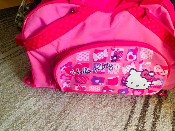 Troler Geanta Hello Kitty