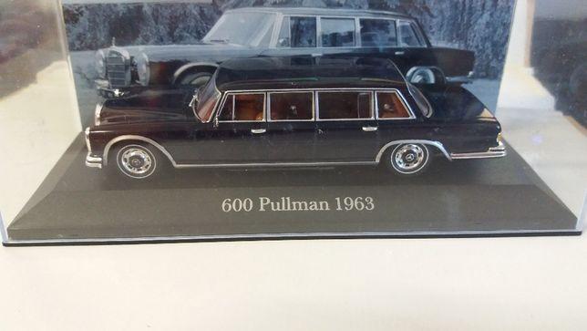 macheta mercedes 600 pullman 1963 - ixo, scara 1/43, noua.