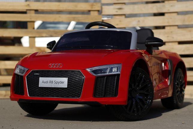 Masinuta electrica pentru copii Audi R8 Spyder 2x45W 12V NOUA #Rosu