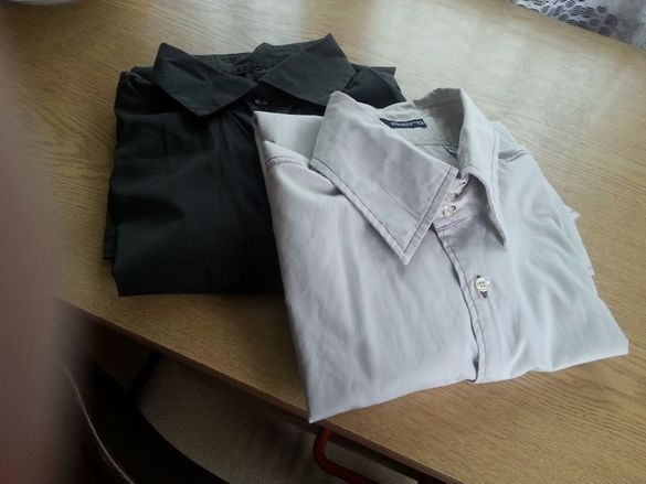 2 броя качествени мъжки ризи общо за 6 лв