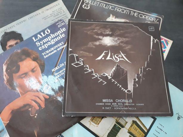 Lot viniluri muzica clasica - 10 discuri.