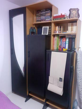 Mobila dormitor plus saltea pat 140cm / 190cm