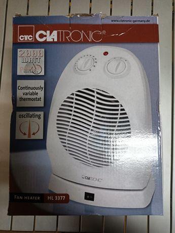 Вентилаторна печка с въртяща се основа, 2000w Clatronic Germany, HL337