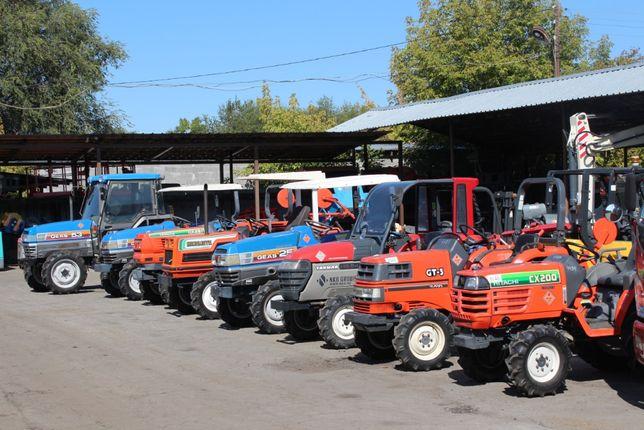 Огромный выбор Японских тракторов без пробега по РК.