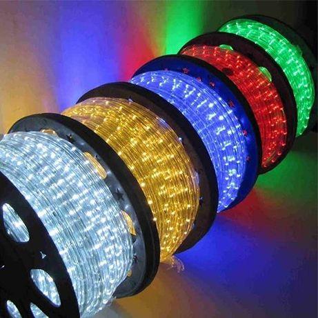 Светещ LED маркуч на метър!
