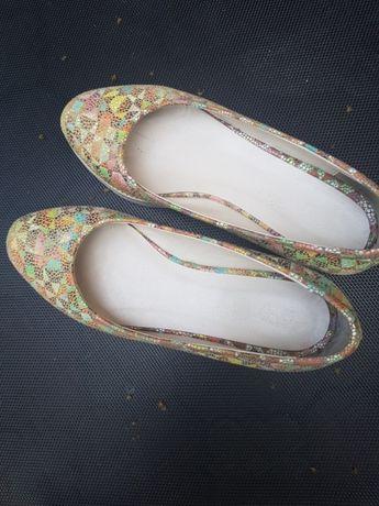 Pantofi fetita din piele