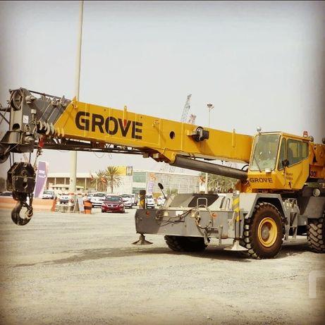 Автокран Grove RT600E 45 тонн кран
