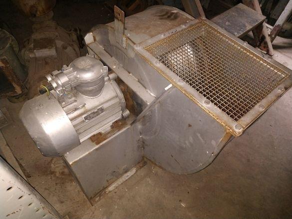Взривозащитен вентилатор 4000 м3/час, 1700 Паскала