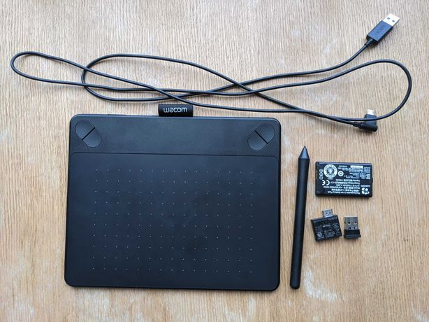 Vand Tableta Wacom Intuos Photo CTH-490 Pen & Touch S Wireless