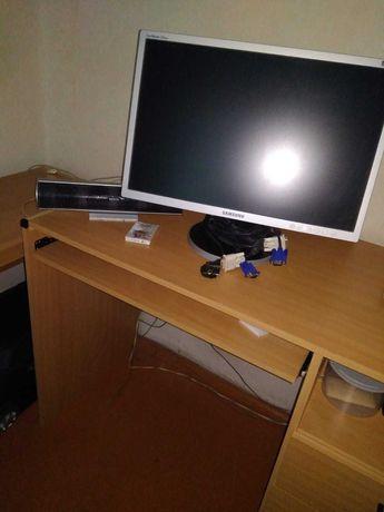 компьютерный стол с приставкой цвет бук