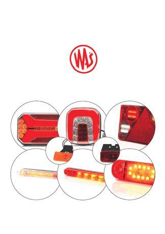 Accesorii lampi camioane proiectoare lampa gabarit stop cu led