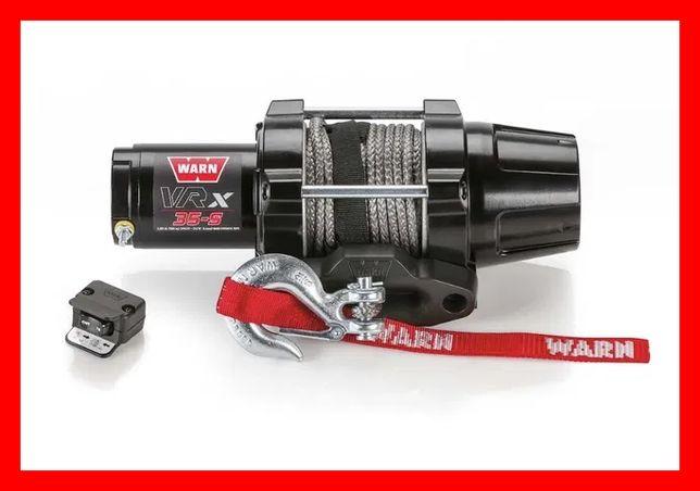 Troliu ATV QUAD Warn VRX 35 Cablu sintetic sufa sintetica 1587 kg (350