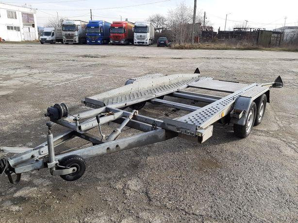 Tractari/Inchiriez platforma auto basculabila 2000 kg.